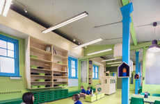 Continuity-Focused School Designs - Aberrant Architecture Designs a School in London
