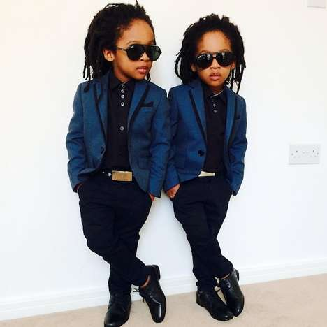 Mini Fashion Icon Accounts - The 2yungkings Instagram Boasts Dapper Twin Ensembles