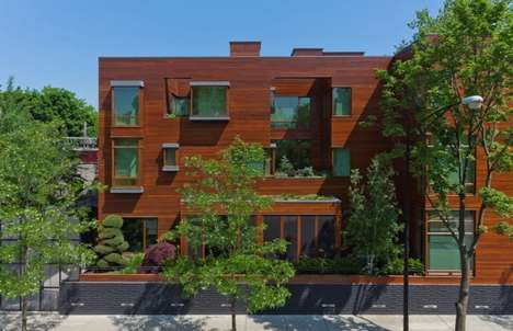Sustainable Urban Townhouses