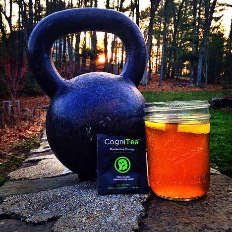 Energy-Boosting Teas