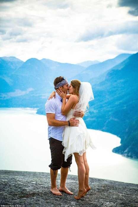 Rock Climbing Weddings