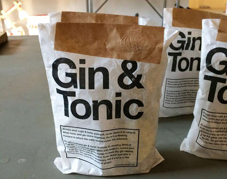 Emergency Cocktail Kits - This Package From VL92 Provides You With Gin and Tonic Ingredients