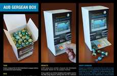 Candy Banking Boxes - Ahli United Bank's Creative Candy Box Gets Kids Excited About Banking