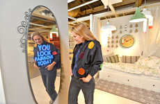 Feel-Good Retail Mirrors - This Motivational IKEA Mirror Boosts Esteem In-Store