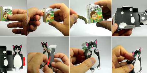 Playfully Interactive Packaging - Stafidenios Raisins Turns Packaging into a Toy