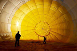 Luxury Balloon Rides - This Romantic Getaway in Sydney Will Leave High-Flying Couples on Cloud Nine