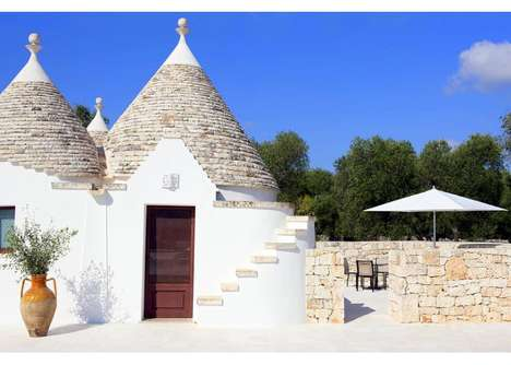 Intimate Holiday Villas - The Villa Trullo Lets You Tie the Knot in a Home Away from Home