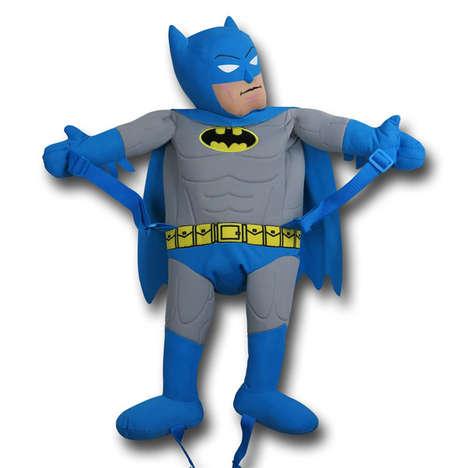 Plush Superhero Knapsacks
