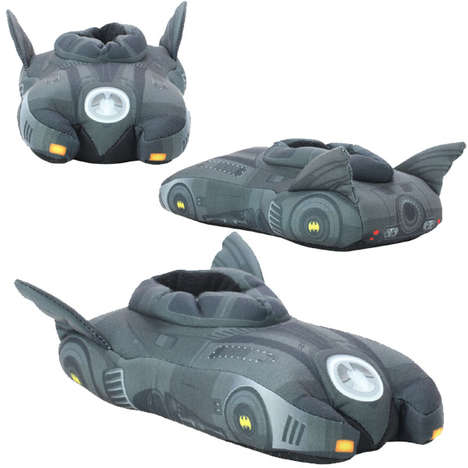 Comfy Superhero Slippers
