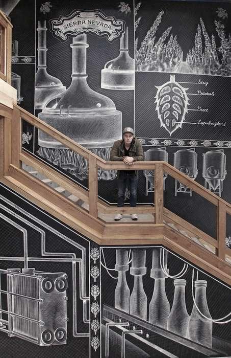 Impressive Chalk Murals