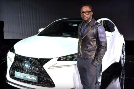 Celebrity-Designed Camera Cars - Will.i.am Equips Lexus' NX SUV with Four 180 Degree Lenses