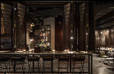 Sentimental Industrial Restaurants - The Mott 32 Restaurant References Rich Cultural History