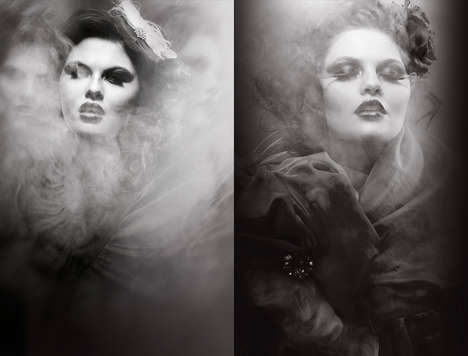 Smoky Film Noir Photography