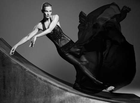 Gothic Ballerina Editorials
