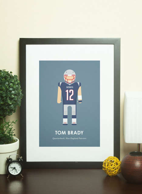 Famous Footballer Prints