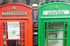 Repurposed Solar Booths - These London Phone Booths are Being Turned Into Green Charging Kiosks
