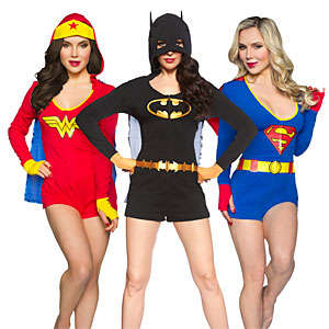 Caped Costume Rompers