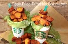 Deep-Fried Pumpkin Spice Lattes - Amy of Oh, Bite It! Creates a Crispy Twist on the Starbucks Drink