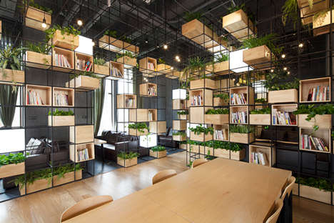 Indoor Garden Cafes - The Modular Design of this Beijing Cafe Offers a Constant Supply of Fresh Air