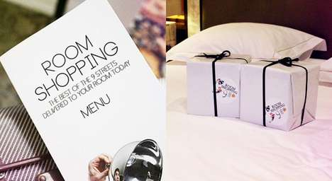 Fashion Delivery Packages - This Hotel Offers Room Shopping Service for Speedy and Stylish Products
