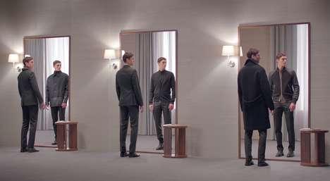 Multiplex Mirror Advertisements