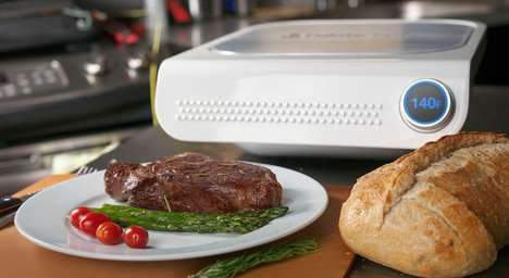 Intelligently Timed Grills - This Smart Cooker Makes Your Food Perfectly Every Single Time