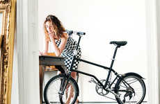 Magnetically Folding Bikes