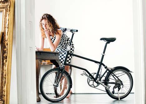 Magnetically Folding Bikes