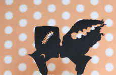 Spooky Cake Toppers - These Halloween Wedding Cake Decals Pay Tribute to Horror