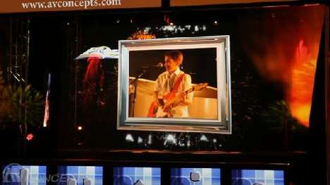 Holographic Projection Technology
