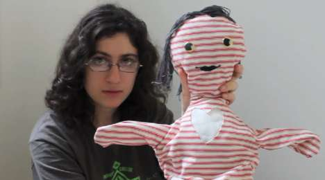 Hug-Sending Dolls - Ariel Cotton's Distance Dolls Help People Connect Long Distance