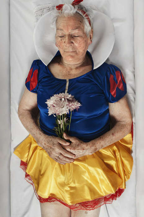 Real Life Old Superheroes - Photographer Romina Ressia Makes Characters Vulnerable and Relatable