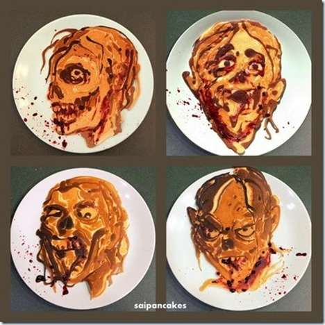 Frightening Flapjack Designs