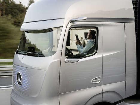 Luxury Self-Driving Trucks