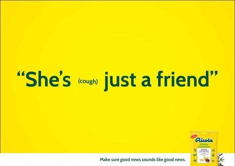 Comical Cough Ads