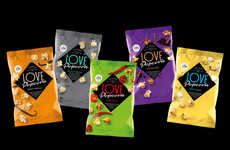 Exotic Popcorn Snacks - Love Popcorn's Snacks Boast All-Natural, Foodie-Approved Flavors