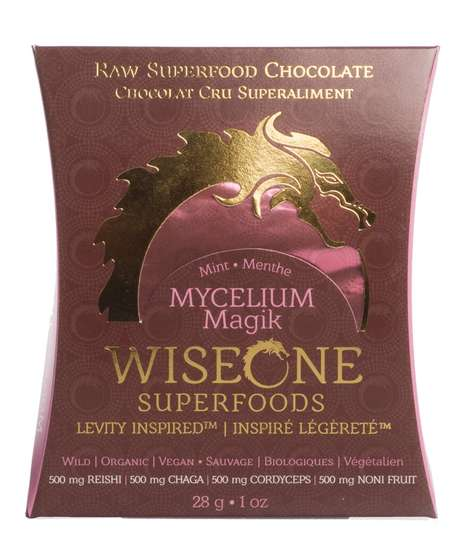 Superfood-Infused Chocolates - WiseOne Superfoods' Healthy Raw Chocolates Boast Health Benefits