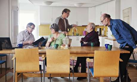 LGBT Retirement Homes - Sweden's Regnbagen House is a First for Europe