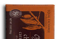 Fair Trade Caramel Snacks - This Organic Chocolate Bar from Equal Exchange is Sea Salt Infused