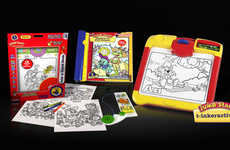 Interactive Coloring Boards