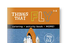 Educational Coloring Books - Aaron Meshon's Activities Teach Kids About Planes, Cars and Robots