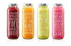 Clean Organic Branding - The Design Concept for RAW Reflects Its Simple Ethos