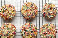 Festive Confetti Cookies - These Vanilla Bean Biscuits are Filled With Colorful Rainbow Sprinkles