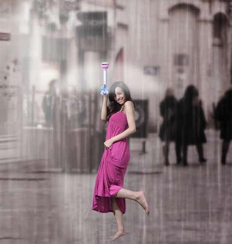 Invisible Air Umbrellas