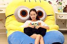 Mini Villain Bean Bags - The Despicable Me Minions Sleeping Bag is Perfect for Sleeping On