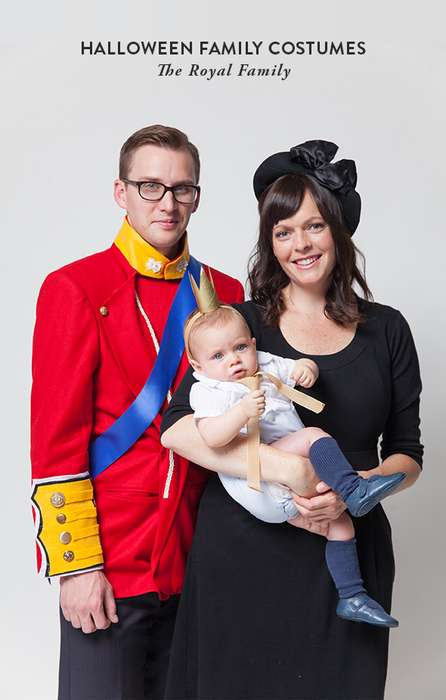 Royal Family Costumes - This Costume Set is Fit for Mom, Dad and Even a Little One