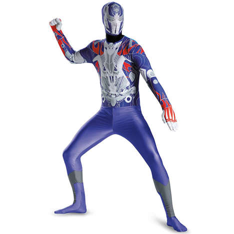 Slim-Fitting Robot Costumes - The Transformers Optimus Prime Bodysuit Offers a Stretchy Alternative