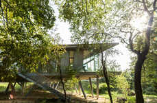 Leafy Healing Retreats - This Cancer Support Center in the UK Features Tree House Architecture