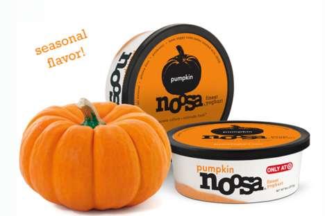Seasonal Pumpkin Yogurts