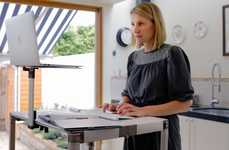 Adjustable Standing Desks - The ZestDesk Converts Any Table Into a Standing Desk